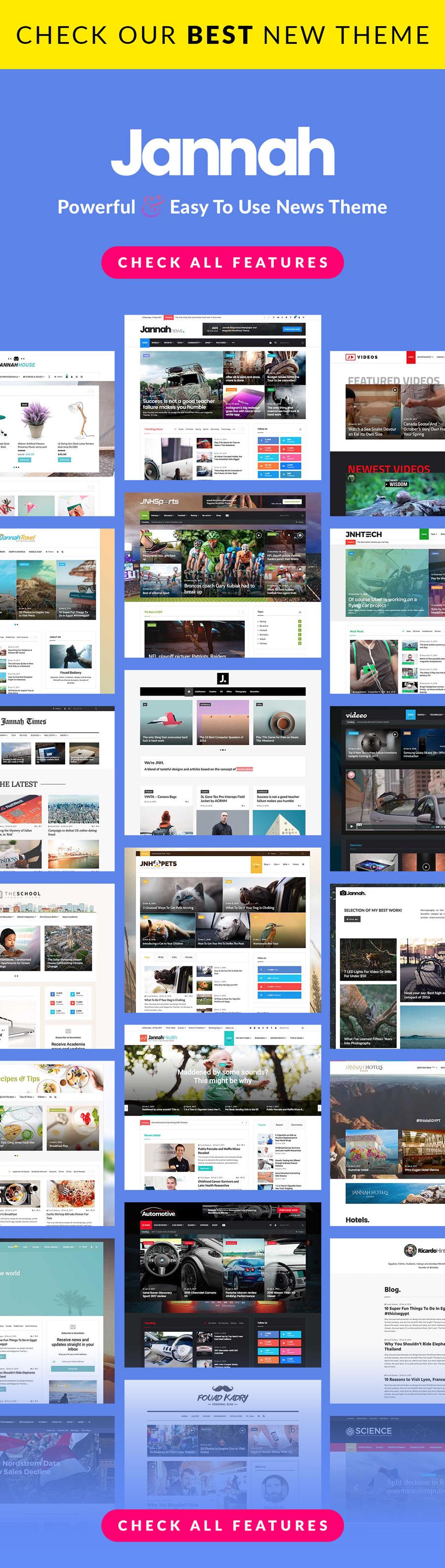 Jarida - Responsive WordPress News, Magazine, Blog - 1