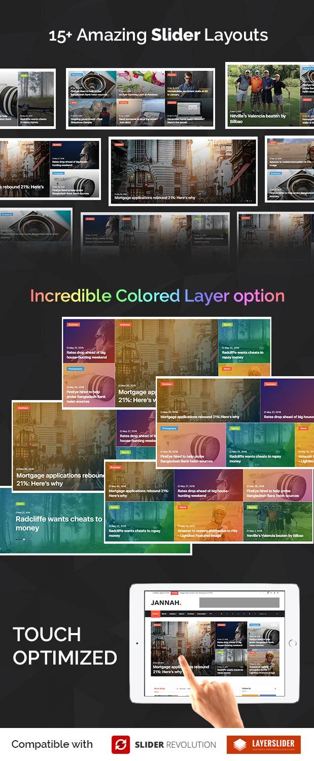 Amazing Slider options