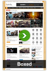 Sahifa Magazine News Newspaper WordPress Theme